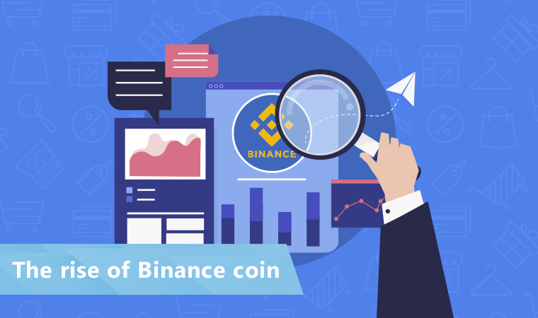Binance coin: Its rise on the weakened cryptocurrency market