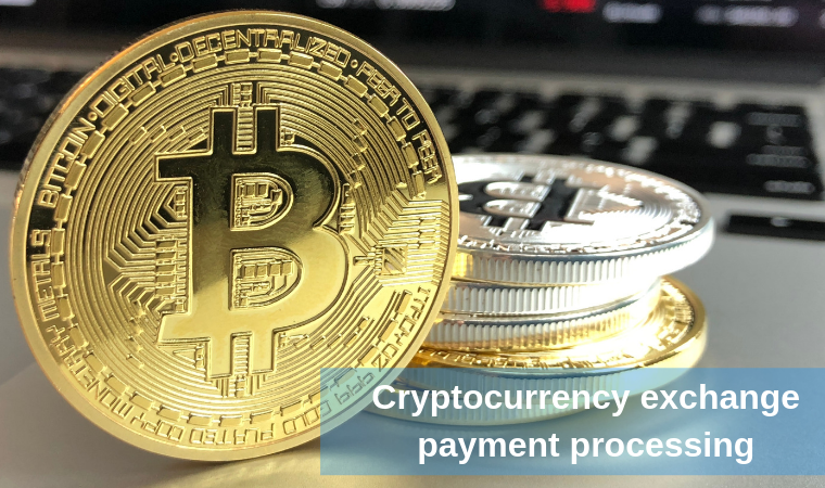 Cryptocurrency exchange payment processing
